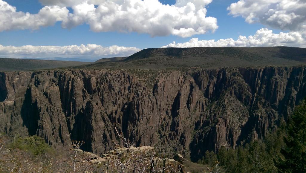 Black Canyon walls